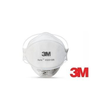 Máscara 3m Pff2 N95 Aura 9320 Br Proteção Respiratória Selo Anvisa e Inmetro