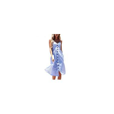 Vestido de Verão Bohemian estilo verão mangas longas Maxi Evening Party Dress