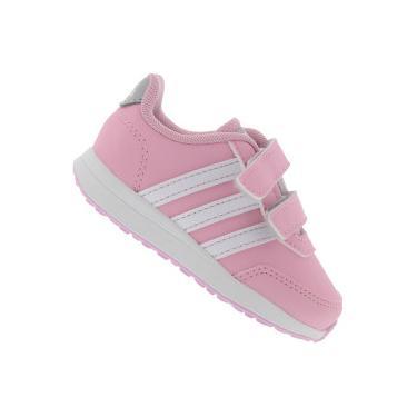 fad0e6379be39 Tênis para Bebê adidas VS Switch CMF Feminino - Infantil - ROSA/BRANCO  adidas