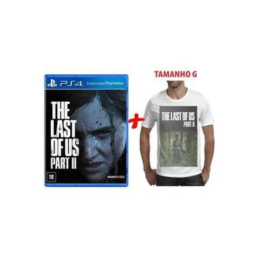 The Last Of Us Part 2 - Ps4 Mídia Física+Camiseta