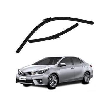 Kit Palhetas Limpador de Parabrisa Dianteiro Toyota Corolla Ano 2015 - Atual