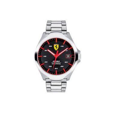 675c4475fb1 Relógio Scuderia Ferrari Masculino Aço - 830507