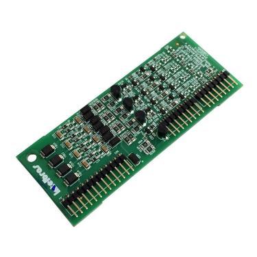 Placa 4 Ramais Desbalanceada Modulare/Conecta + Intelbras
