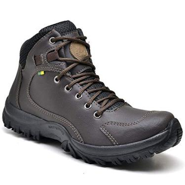 BOTA ADVENTURE MASCULINA SANDRO REPUBLIC TRAILS (40, Marrom Escuro)