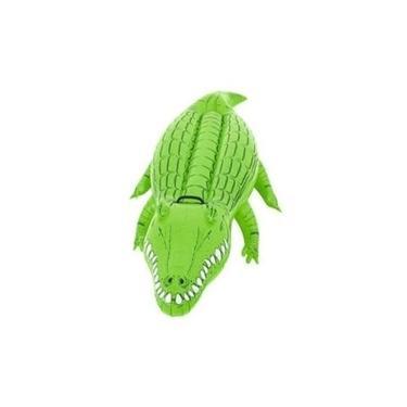 Boia Inflável Para Piscina Crocodilo Jacare Praia Verao Mor