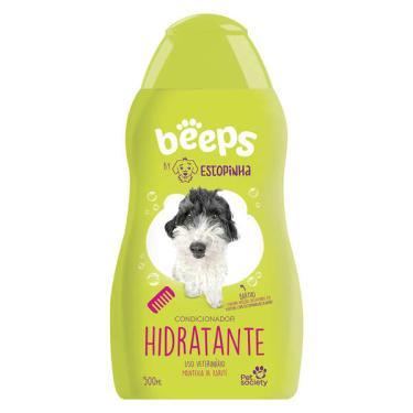Condicionador Hidratante Pet Society Beeps Estopinha Manteiga de Karité - 480 mL