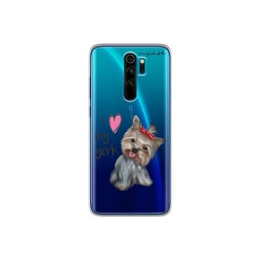 "Capa para Xiaomi Redmi Note 8 Pro - I love my York "" nome do seu animal """