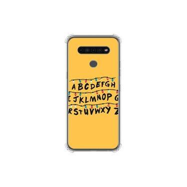 Capa para LG K41s - Stranger Things | Alfabeto Luzes