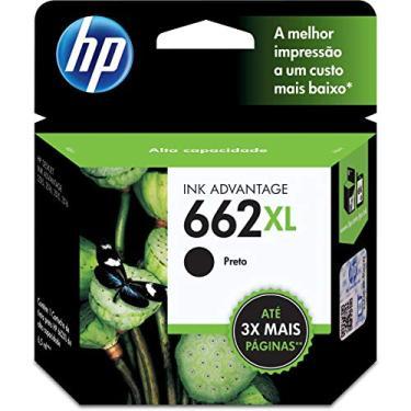 Cartucho HP 662XL Preto Original - (CZ105AB)