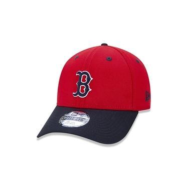 Boné New Era 3930 Boston Red Sox Core 2 Tone Aba Curva