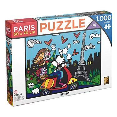 Imagem de Grow 03746 Puzzle Romero Britto - Paris, 1000 peças