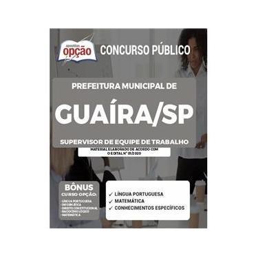 Imagem de Apostila Concurso Guaíra Sp Supervisor De Equipe De Trabalho