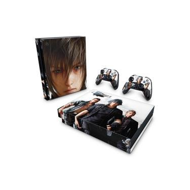 Skin Adesivo para Xbox One X - Final Fantasy Xv #B