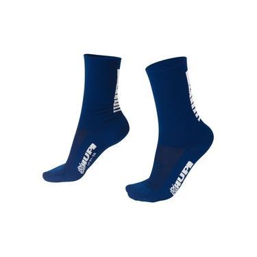 Meia HUPI Lisa Azul Marinho - LT para pés menores 34-38
