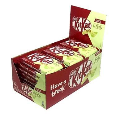Chocolate Kit Kat Limão 41,5gr C/24un - Nestlé