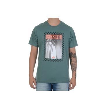 Camiseta Quiksilver Quiver Verde