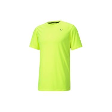 Camiseta Puma Performance Masculina - Amarelo