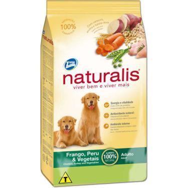 Ração Total Naturalis Frango,Peru e Vegetais para Cães Adultos - 15 Kg