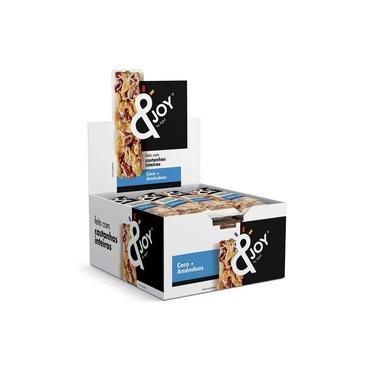 Barra &Joy Nuts Coco E Amêndoas 30G Display Com 12 X 30G