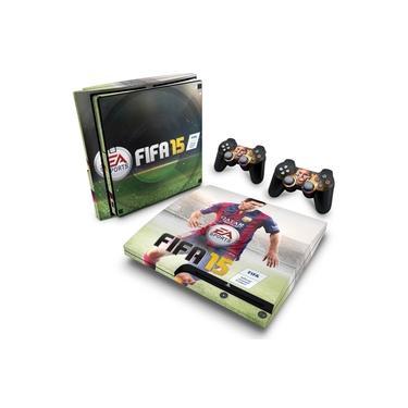 Skin Adesivo para PS3 Slim - Fifa 15