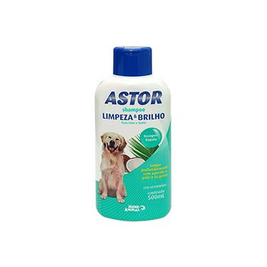 Shampoo Limpeza e Brilho Astor 500ml - Mundo Animal