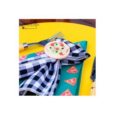 Imagem de Porta guardanapos de Pizza em Biscuit