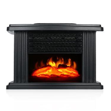 Lareira elétrica Bakeey 1000W Aquecedor Portátil Flame de mesa Aquecedor Fogão Ventilador aquecedor de ar para sala de e Banggood