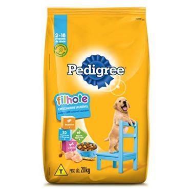 Ração Pedigree Para Cães Filhotes Raças Médias e Grandes 20 kg