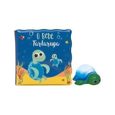 Imagem de Livro de Banho e Mini Figura - O Bebê Tartaruguinha - Buba