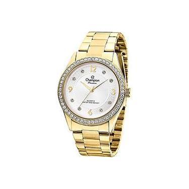 31a60a613b7 Relógio de Pulso Feminino Analógico Social Shoptime