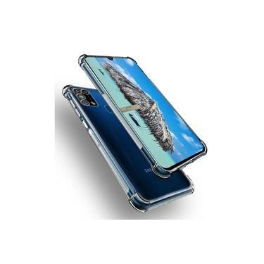 Capa Anti Shock + Película De vidro 3D + Pelicula Camera Samsung M31
