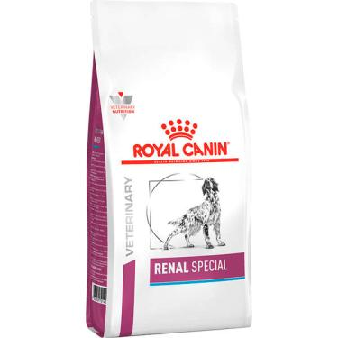 Ração Royal Canin Canine Veterinary Diet Renal para Cães com Insuficiência Renal - 10 Kg