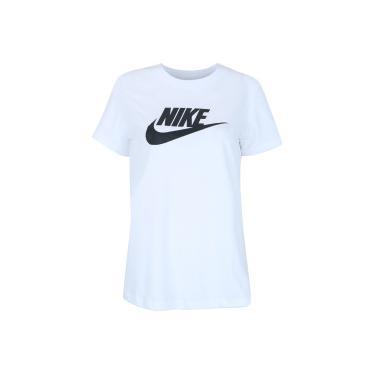 Camiseta Nike Sportswear Essential Icon Futura - Feminina Nike Feminino