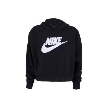 Blusão de Moletom com Capuz Nike Sportswear Icon Clash FLC Hoodie BB - Feminino Nike Feminino