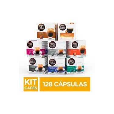 Kit de Cafés Nescafé Dolce Gusto - 128 capsulas