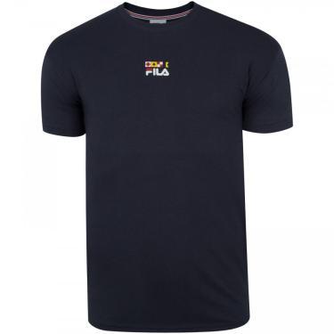Camiseta Fila Acqua Flag - Masculina Fila Masculino