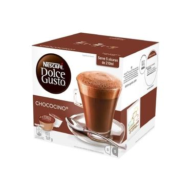 Capsula de Chococino Dolce Gusto 12,9g CX 10 UN Nescafe