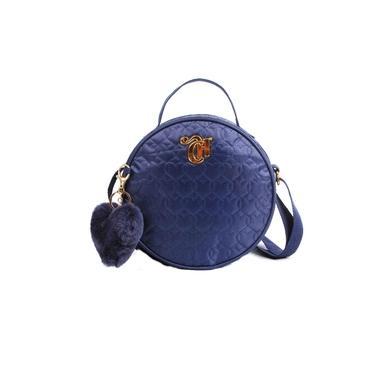 Bolsa Transversal Capricho Bag Love Blue