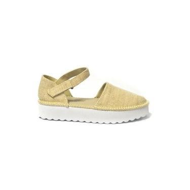 Alpargata Espadrille Sola Alta Feminina Perky Shoes