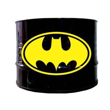 Imagem de Mesa De Centro De Tambor Decorativo - Tema Batman - 43 Vintage
