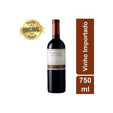 Vinho Chileno Marques Casa Concha Merlot Tinto Seco Garrafa 750ml - Concha Y Toro