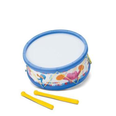 Imagem de Tamborete  Pocoyo Instrumento Musical Infantil - Cardoso Toys