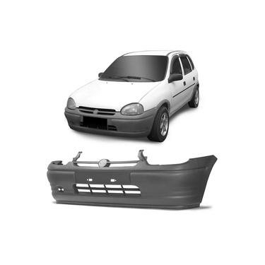Para-Choque Dianteiro Corsa Hatch 94 95 96 97 98 99 Pick-up 96 a 99 Cinza Texturizado Sem Spoiler