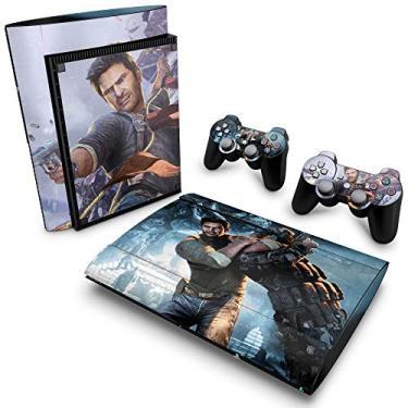 Skin Adesivo para PS3 Super Slim - Uncharted 2