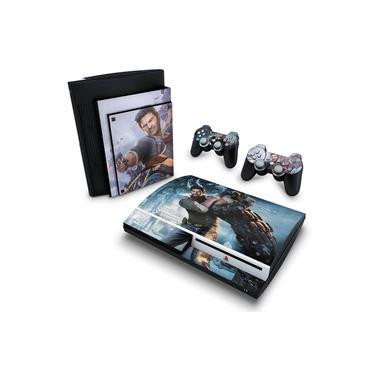 Skin Adesivo para PS3 Fat - Uncharted 2
