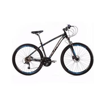 Bicicleta Aro 29 Alfameq ZT Freio Hidráulico Suspensão com Trava 27 Marchas Quadro 21