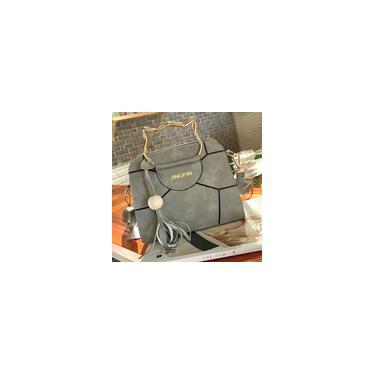 Exquisite Cat Patchwork Ear guiador Shoulder Bag Crossbody Bag Handbag