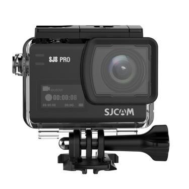 SJCAM SJ8 PRO 4K 60fps Ação Câmera Dual Screen Sport Câmera DV Ambarella H22 Chipset Big Caixa Banggood
