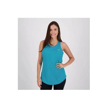 Regata Fila Basic Sports Feminina - Azul