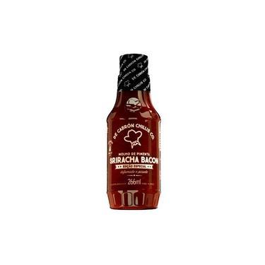 Molho de Pimenta Sriracha Bacon 266ml De Cabrón